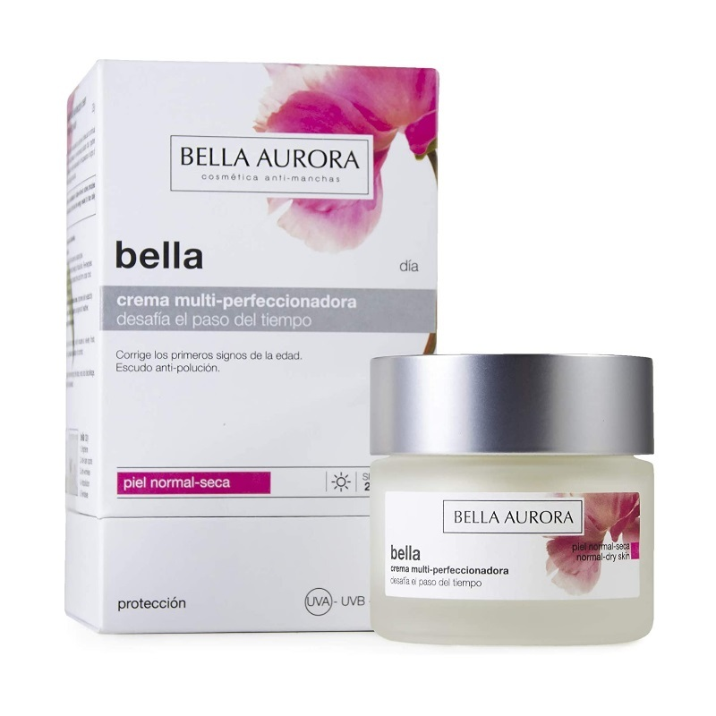 Crema hidratante facial de Bella Aurora