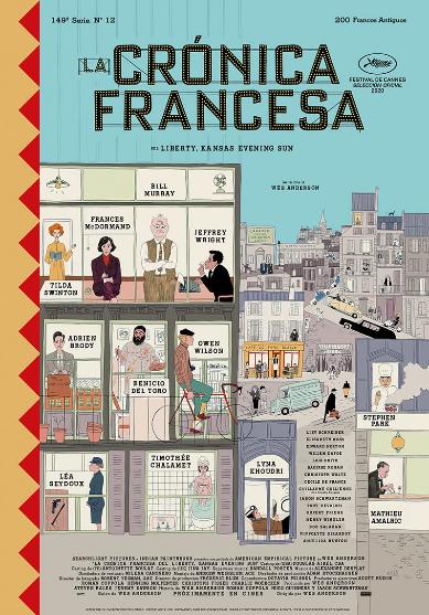 La crónica francesa, de Wes Anderson