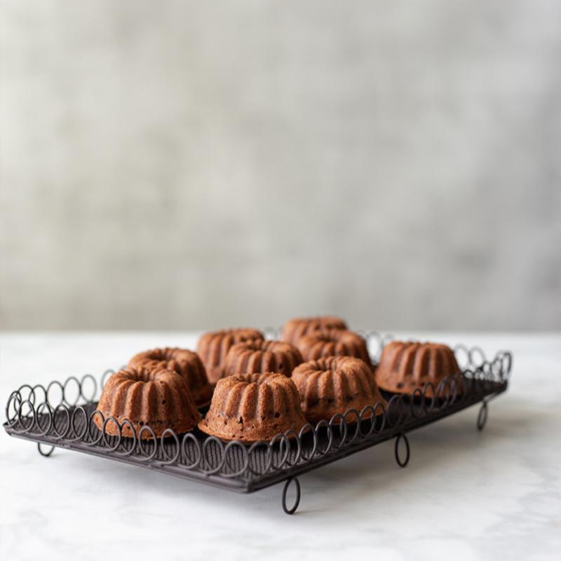 Minibizcochos sin gluten.