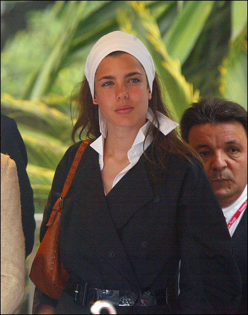 Carlota Casiraghi en Mónaco en 2003.