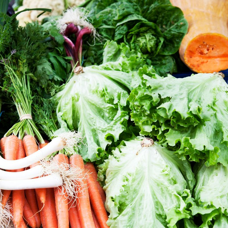 Las zanahorias, calabazas y espinacas, favorecen la producción de melanina
