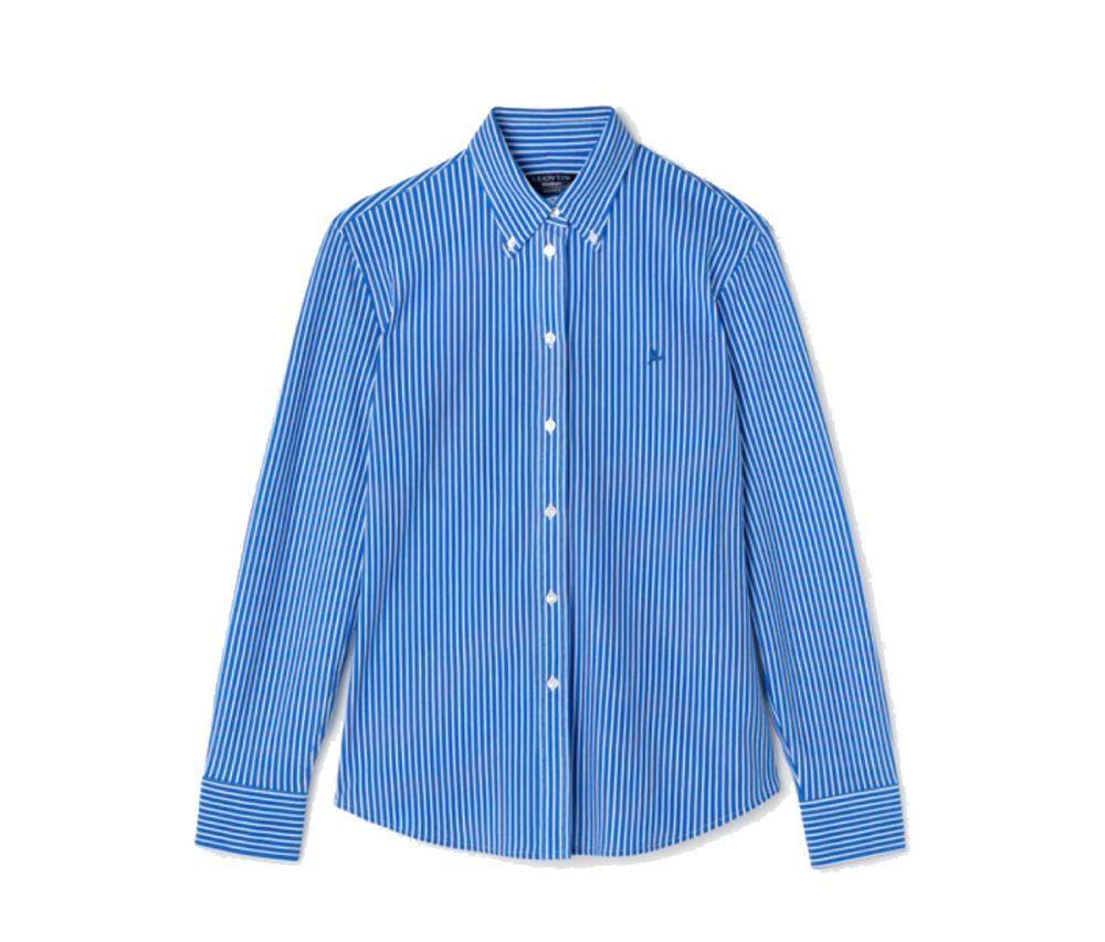 Camisa de rayas de Lloyd's.