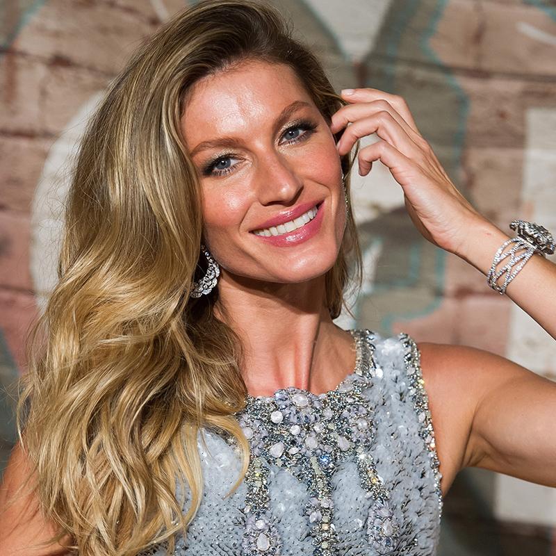 Gisele Bündchen, la modelo con el pelo más deseado.