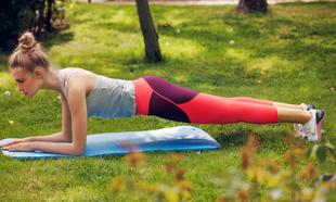 plancha ejercicio espalda gluteo abdominal