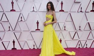 Zendaya en los Oscar 2021.