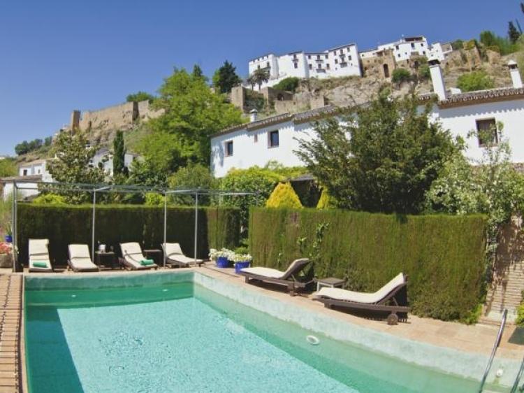 Hotel Alavera de los baños, en Ronda.