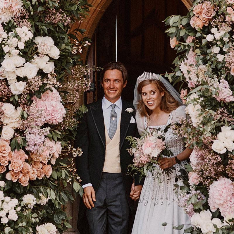 La boda de Beatriz de York.