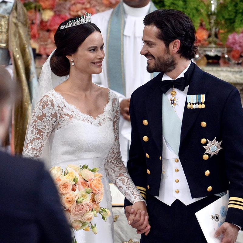 Boda de Sofía Hellqvist y el Príncipe Carlos Felipe en Suecia.