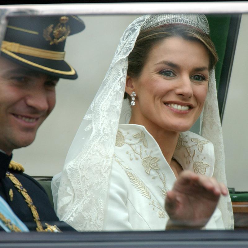 La boda de los Reyes de España.