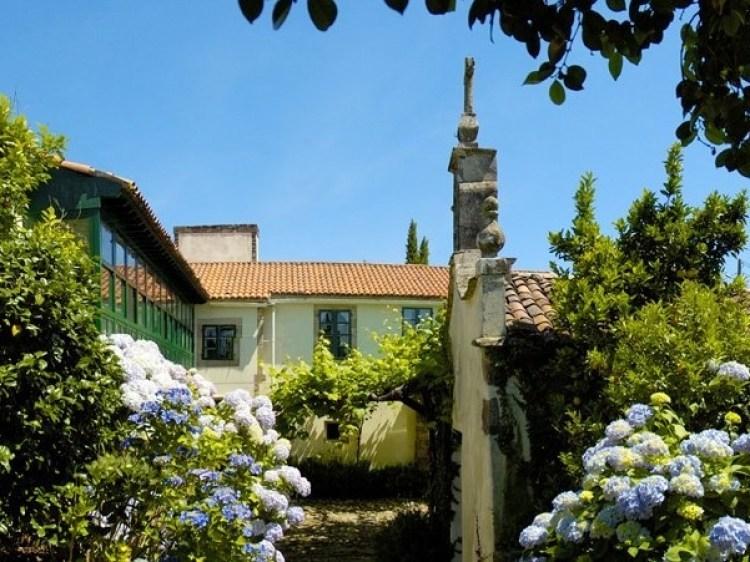 Pazo Cibran, junto a Santiago de Compostela.