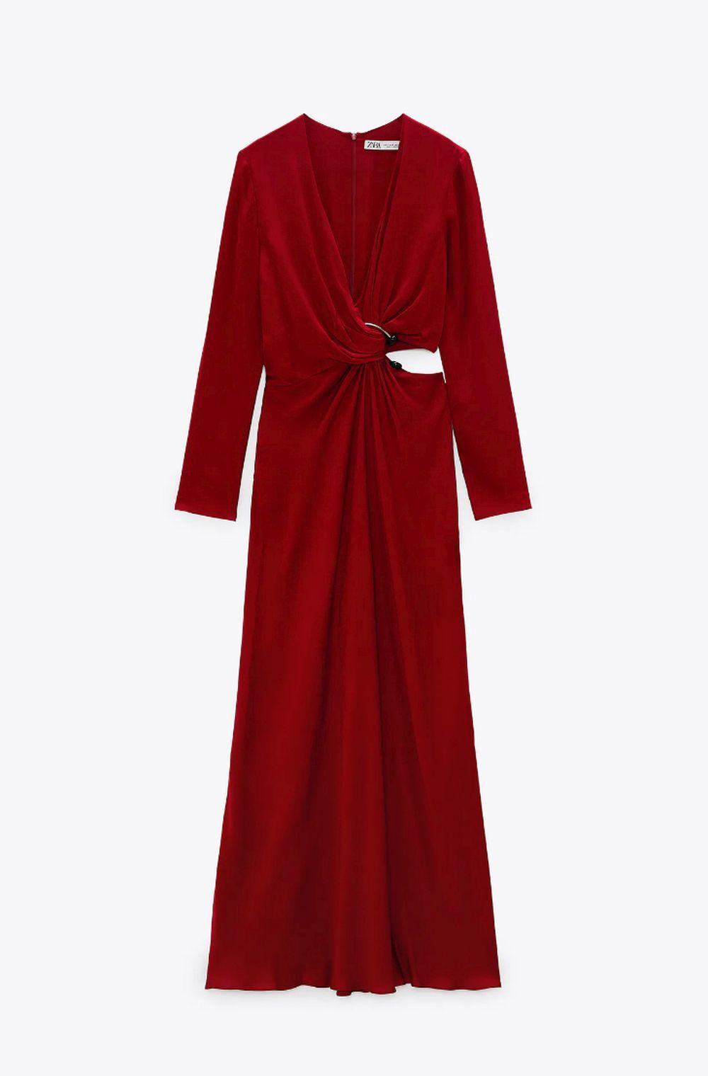 Vestido cut out de Zara.