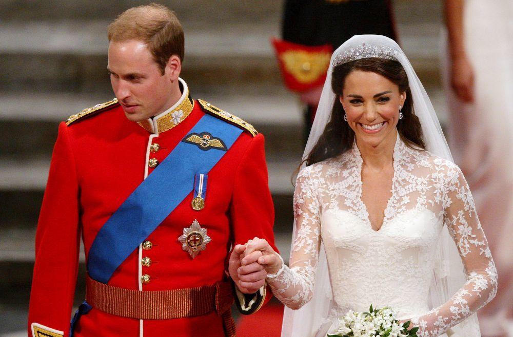 Kate Middleton y el príncipe Guillermo cumplen 10 años de casados.