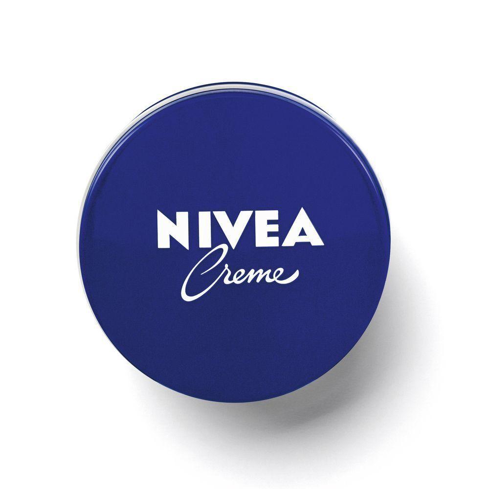 Crema hidratante Nivea lata azul