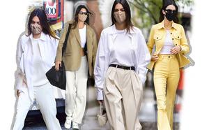 El estilo depurado y con un toque classy de Kendall Jenner.