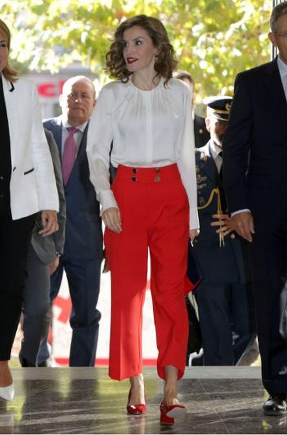 La reina Letizia en octubre de 2016.