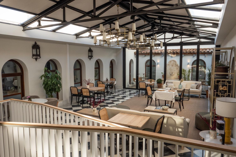Hotel Hospes Palacio de los Arenales, en Cáceres