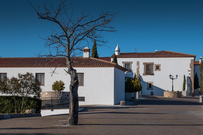 Hotel Hospes Palacio de los Arenales, en Cáceres.