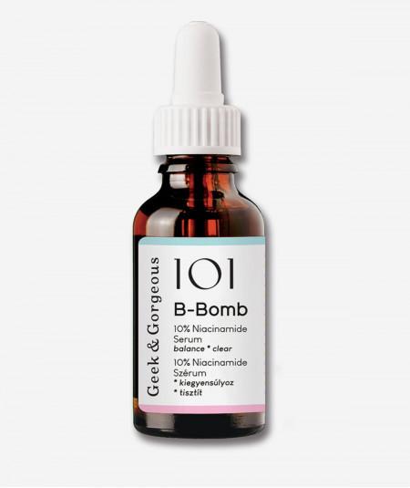 Sérum 101 B Bomb de Geek and Gorgeous, disponible en Farmacia Marta Masi