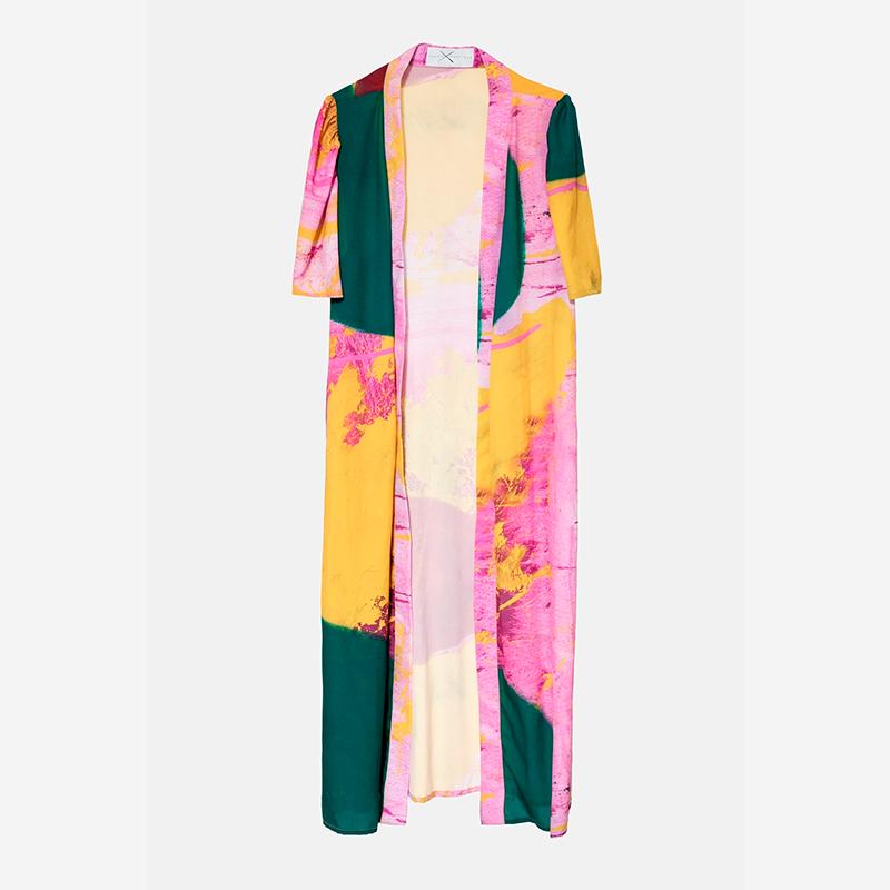 Kimono-vestido de Arena Martínez para Es Fascinante