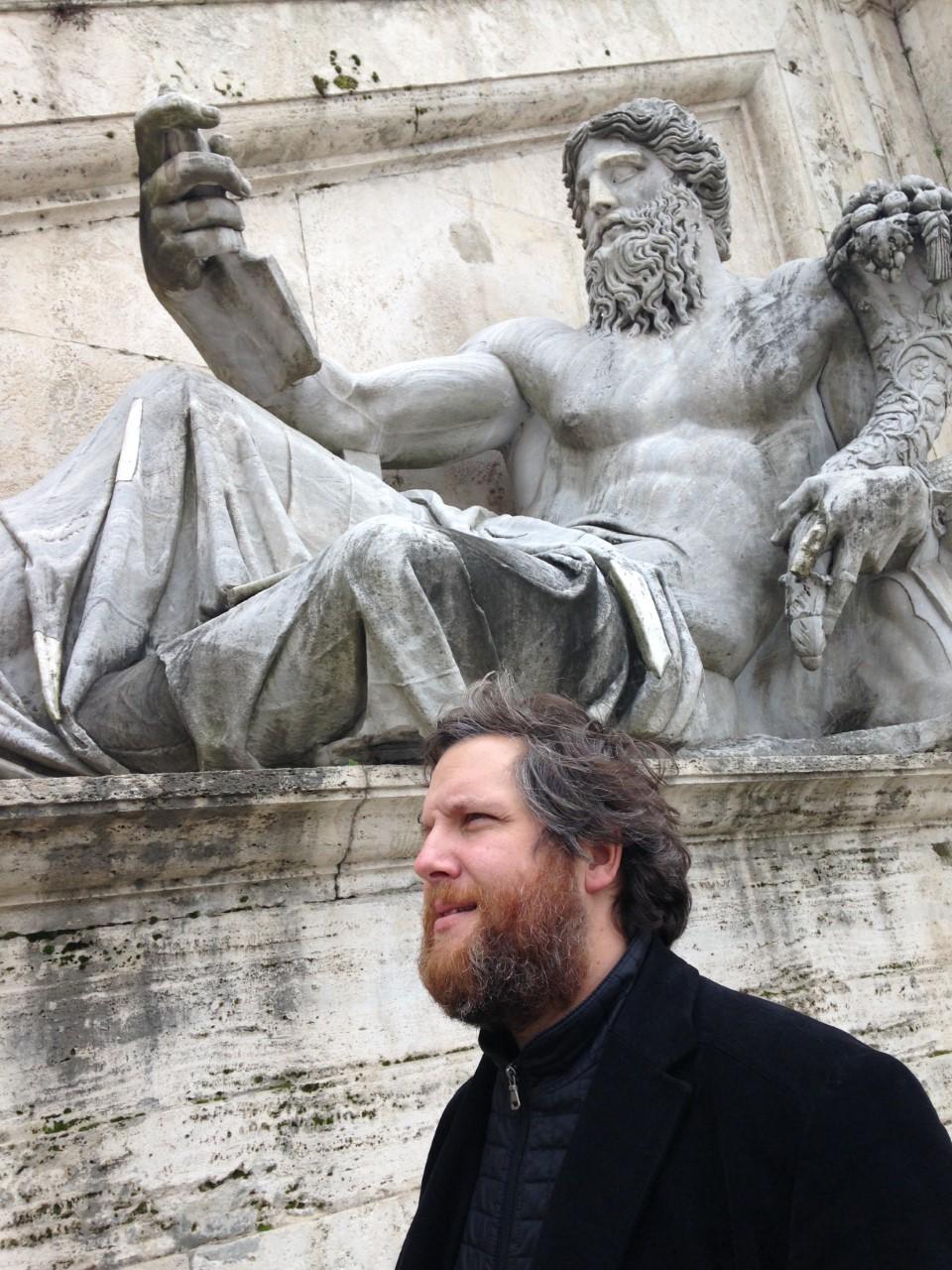 David Gistau en Roma