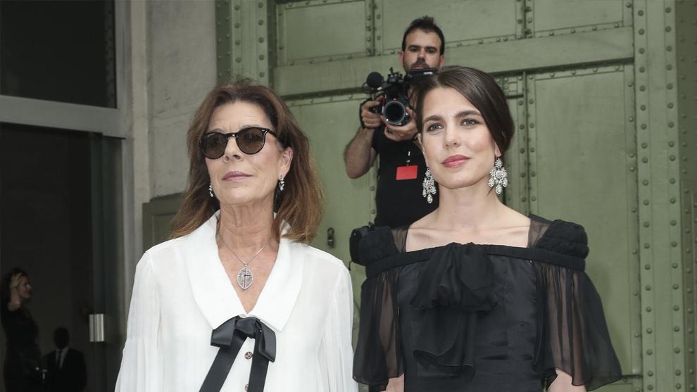 Carolina de Mónaco y su hija Carlota Casiraghi