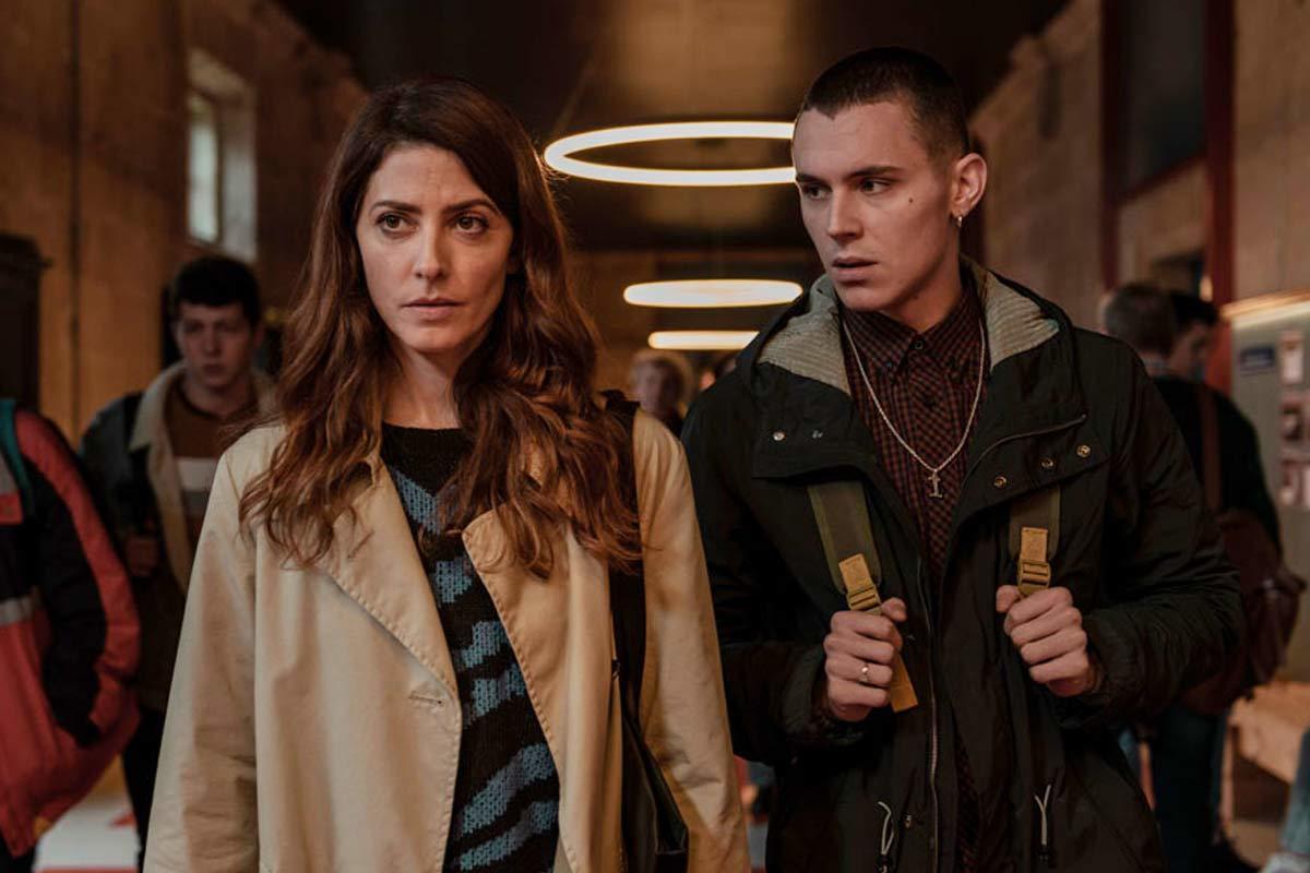 """Barbara Lennie y Aron Piper, dos de los protagonistas de la serie """"El desorden que dejas""""."""