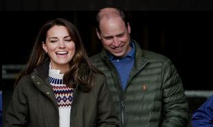 Los duques de Cambridge muestran una cara cercana y divertida en su...