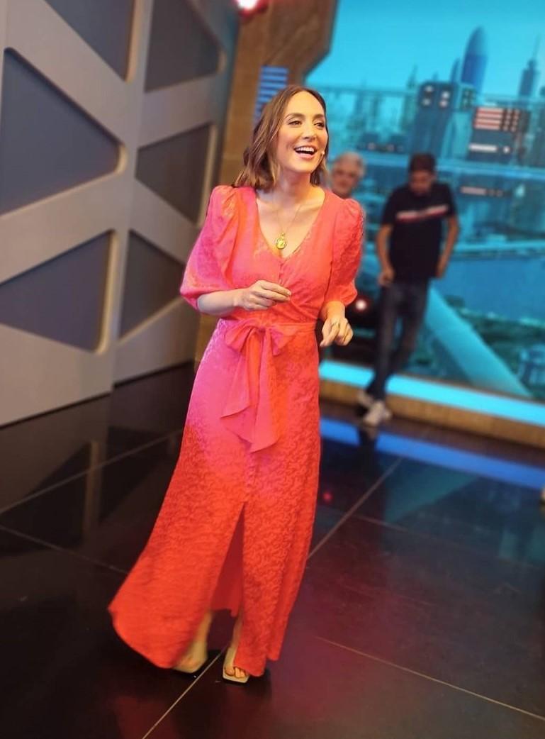 Tamara Falcó con vestido de Cherubina.