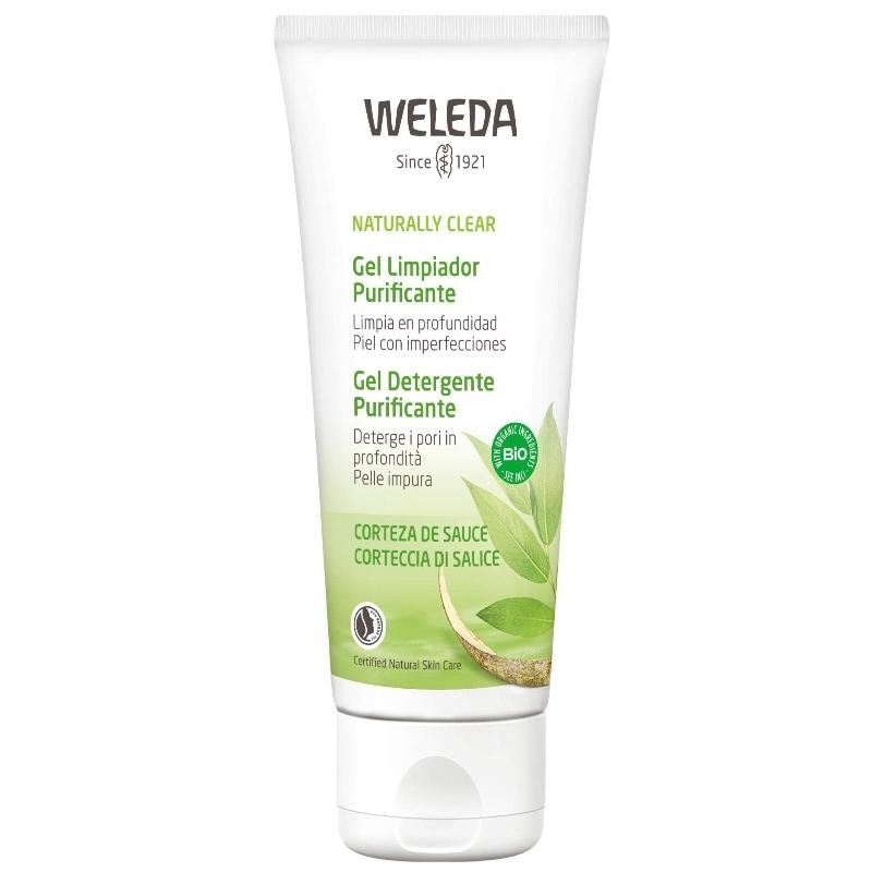 Limpiador facial purificante de Weleda.