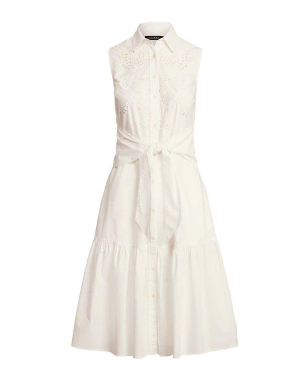 Vestido de Ralph Lauren.