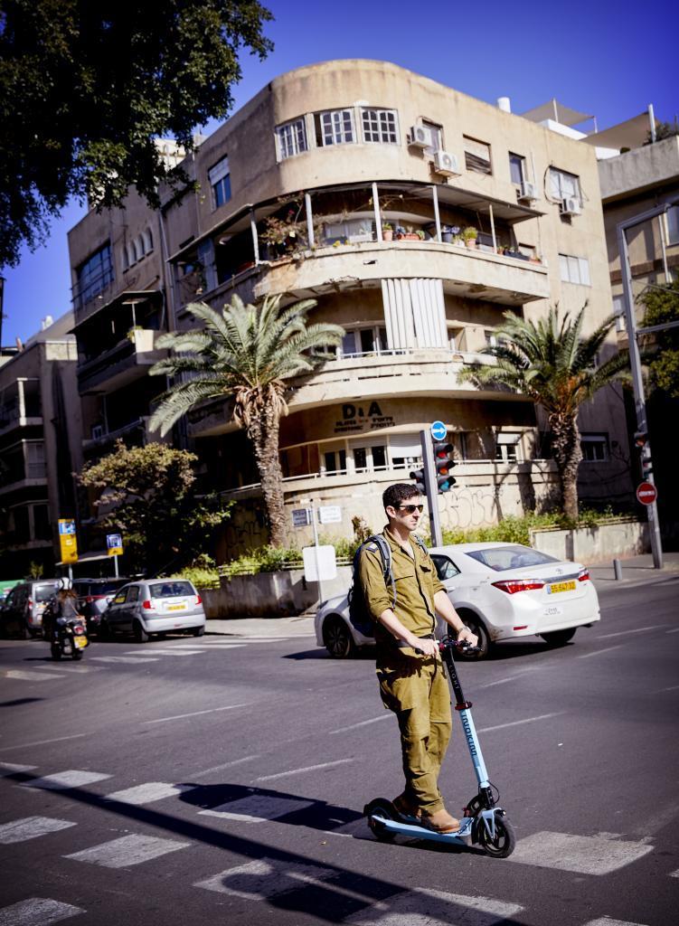 Edificio Bauhaus en la Avenida Rotschild de Tel Aviv