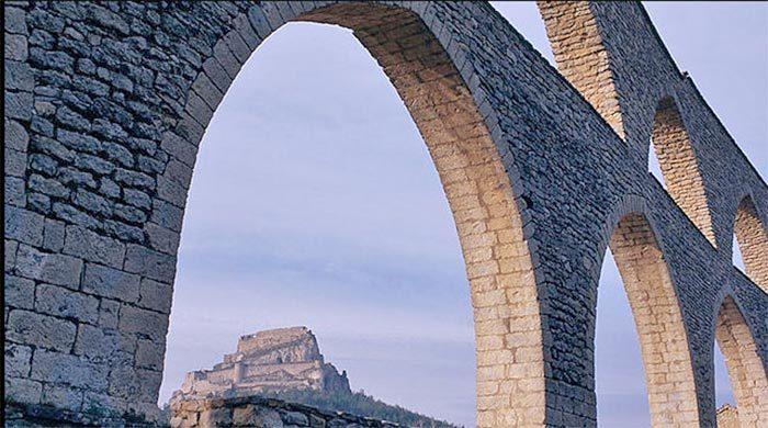 Morella, en la Comunidad Valenciana.