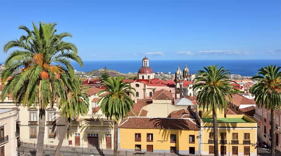 La Orotava, en Tenerife.