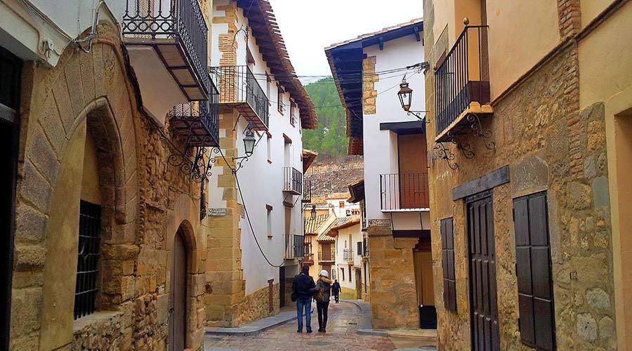 Rubielos de Mora, en Teruel.