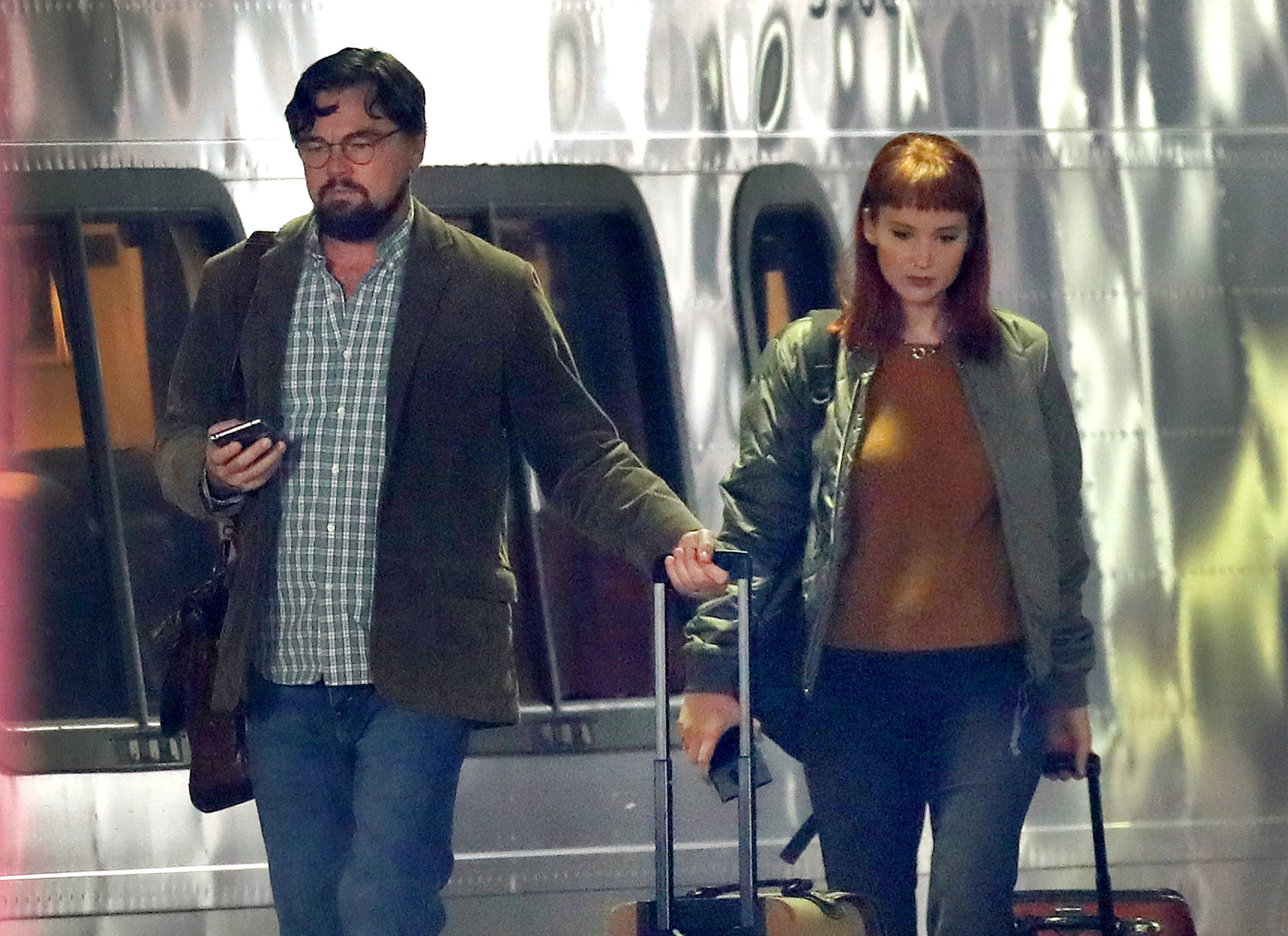 Leonardo DiCaprio y Jennifer Lawrence en Don?t look up