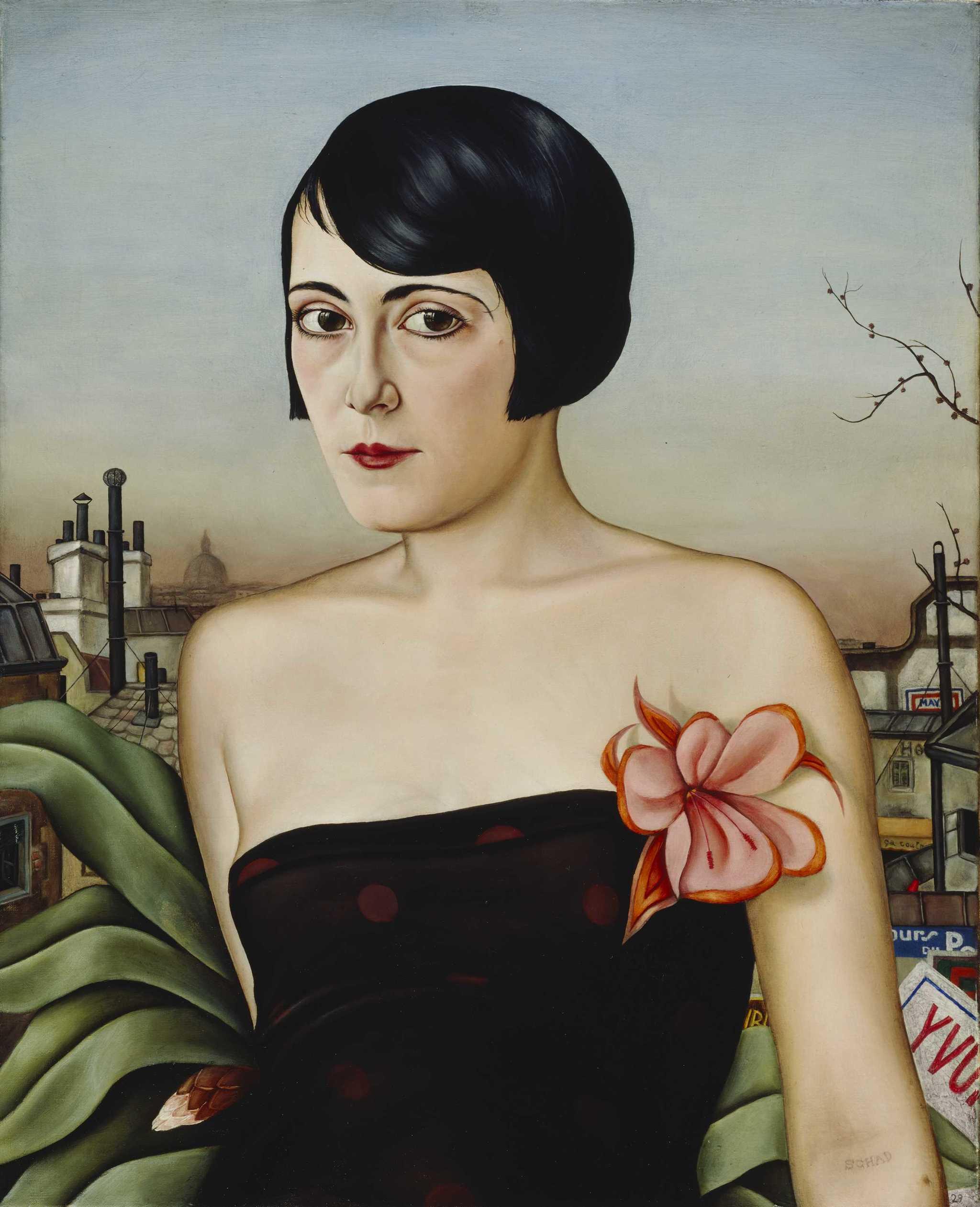 Christian Schad. Maika, 1929