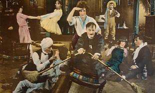 Fotograma de la película Hermosos y malditos (1922)