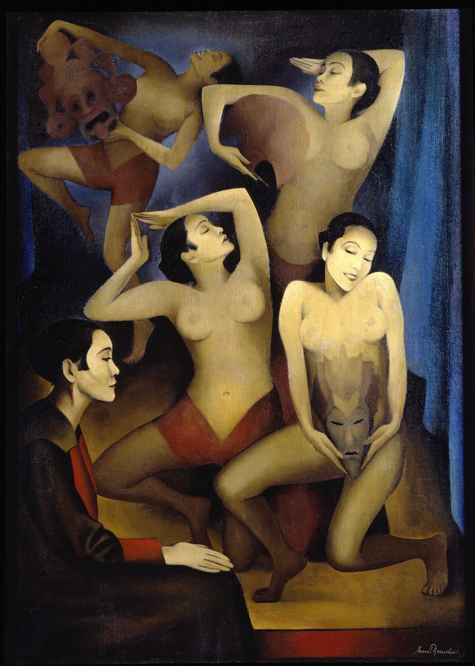 Ernest Neuschul. Takka-Takka baila (Takka-Takka tanzt), 1926