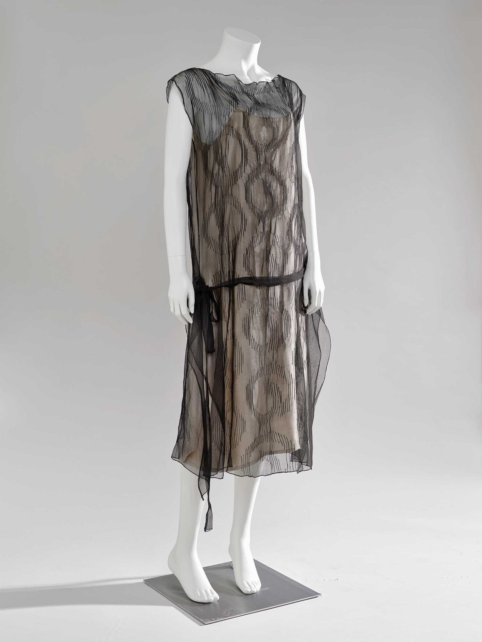 Madeleine Vionnet. Vestido de cóctel, ca. 1928