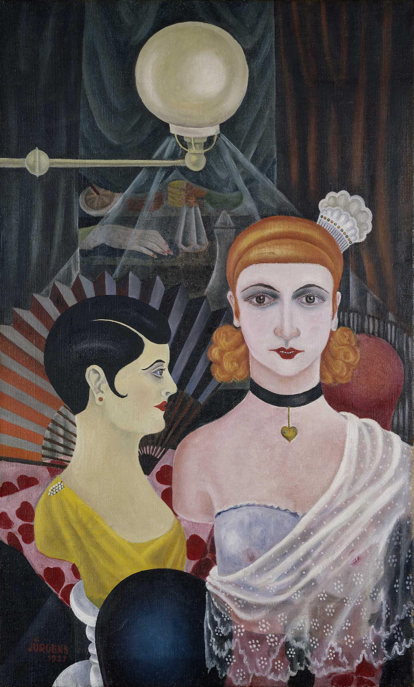 Grethe Jürgens. Maniquíes de peluquería (Frisierpuppen), 1927