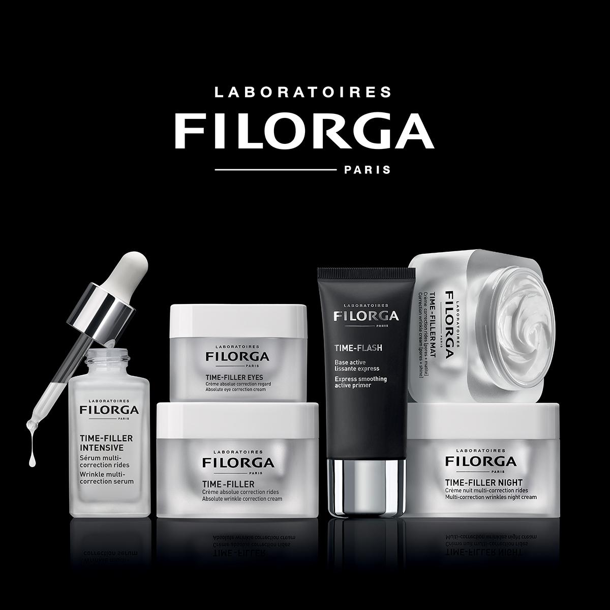 Gama TIME-FILLER de Laboratorios FILORGA.