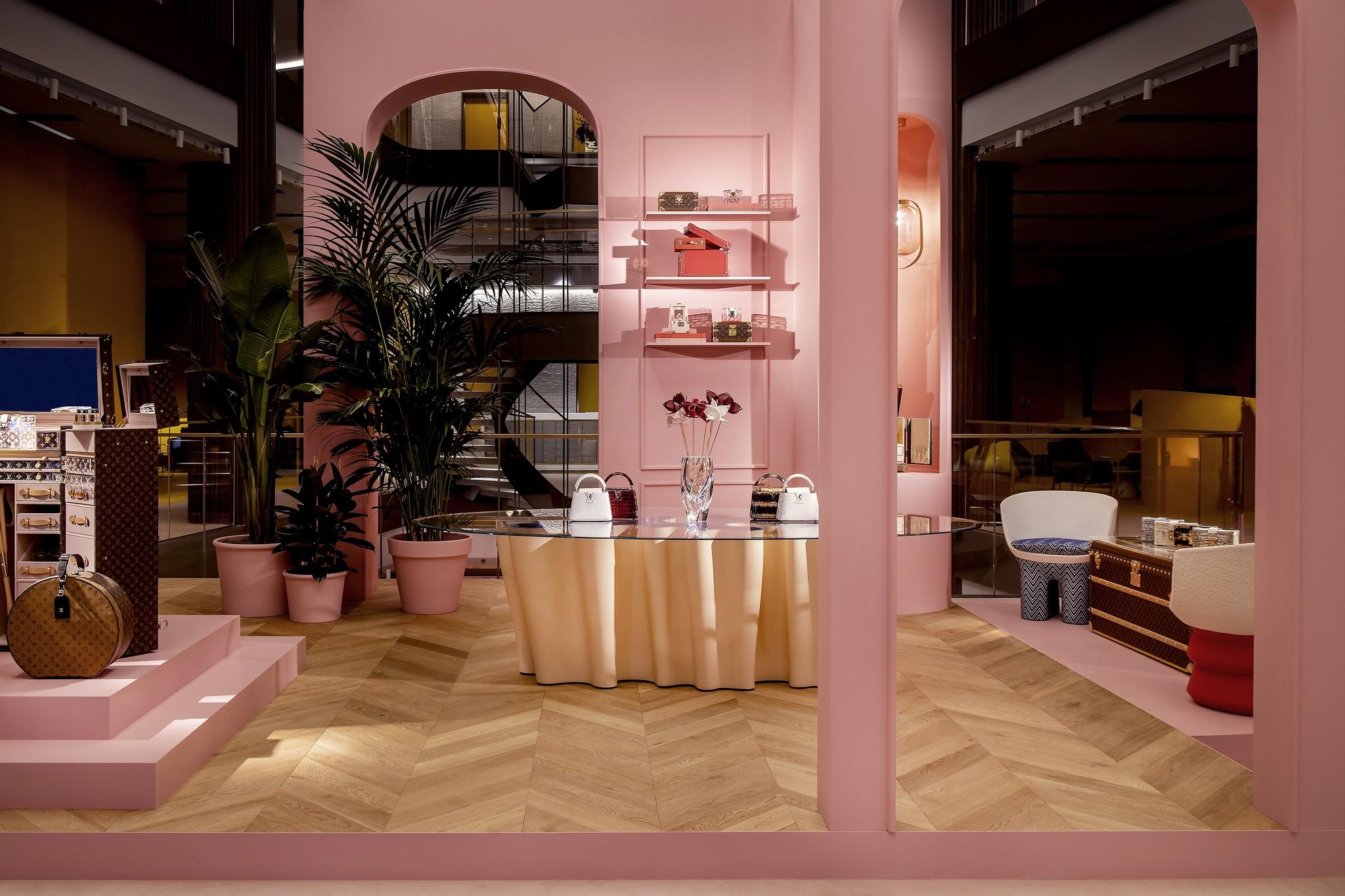 Espacio Louis Vuitton en la Galería Canalejas de Madrid.