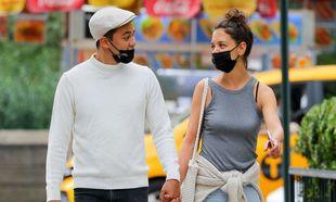 Katie Holmes y su novio Emilio Vitolo
