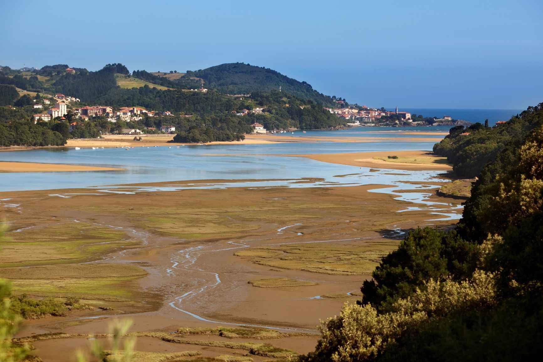 Reserva del Urdaibai, playa de Laida.
