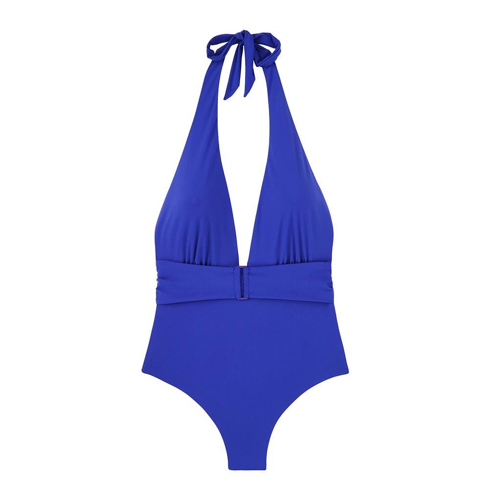 Bañador azul de Etam.