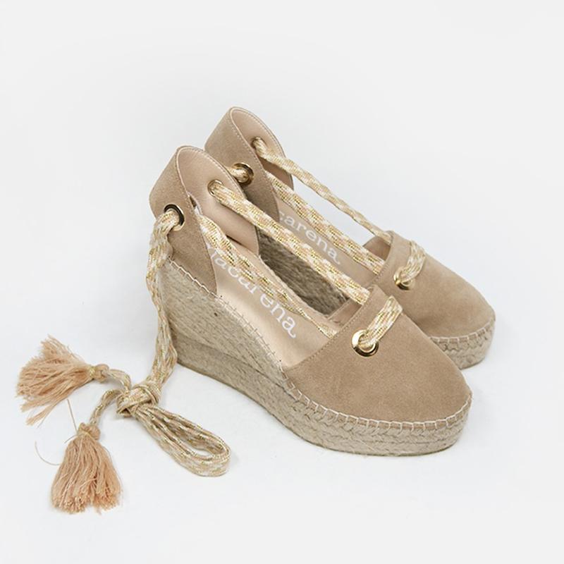 Alpargatas originales de Macarena Shoes.