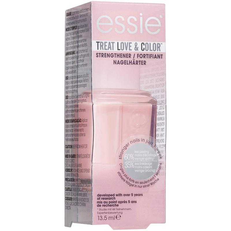 Tratamiento fortalecedor y color para tus uñas Treat Love & Color de Essie.