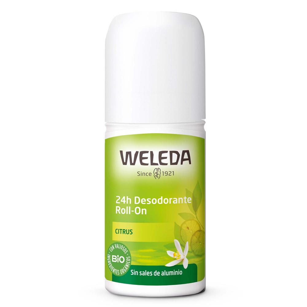 Desodorante 24H Citrus de Weleda.