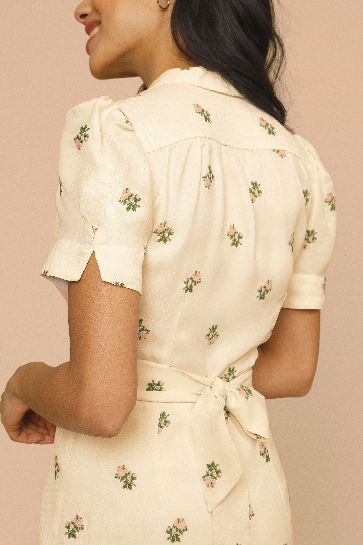 Espalda del vestido de Rouje.