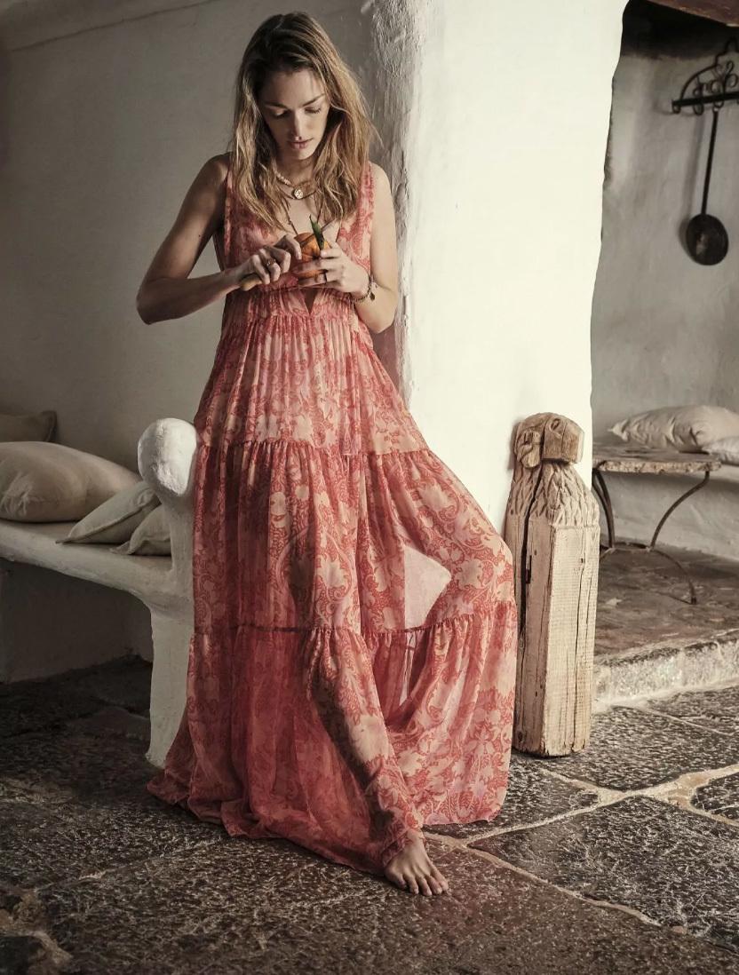 Los vestidos boho más bonitos del verano están en la colección Chufy x Mango